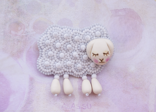 sleepy sheep grey