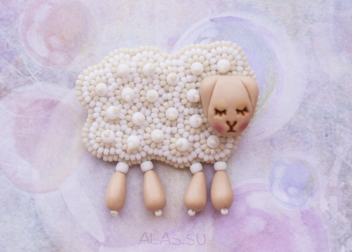 sleepy sheep beige